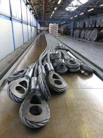 Wire Rope Assemblies And Fittings Latch And Batchelor